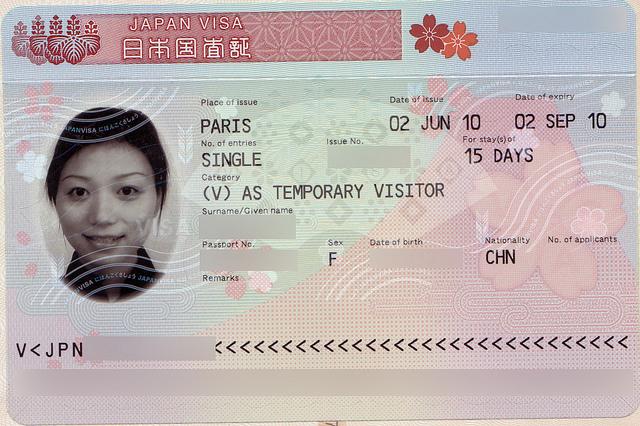 Visa Nhat-Ban