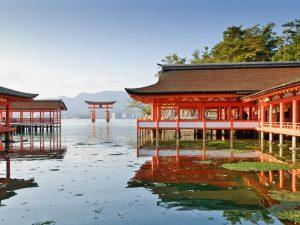 Đền Itsukushima Nhật